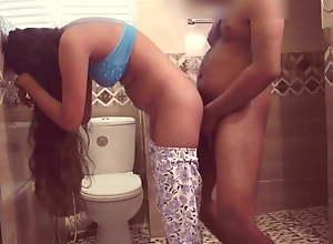 Ass fuck in Bathroom