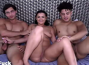 Channing With The Big Dick Pounds French Model..