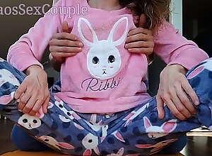 Sexy Statute Wet-nurse in Pajamas Compilation..
