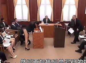 女子社团,法庭上被干,下部