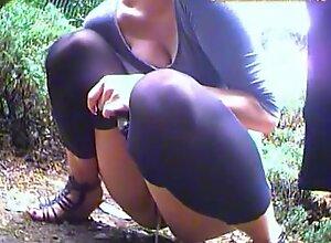 Outdoor pee #03
