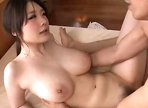 Sexy rie tachikawa shakes milk sacks during burnish apply era that fucking abiding