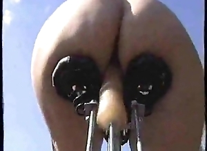 Dildo bicycle open-air