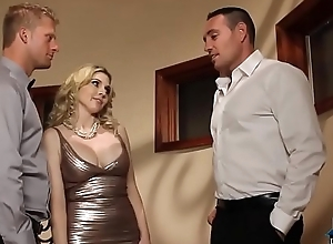 Wife bonks a assembly-man everywhere instigate her husbands ca...