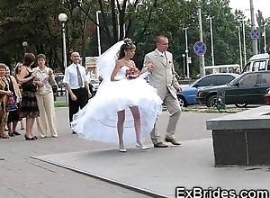Luscious veritable brides!