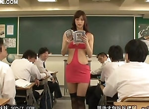 Horny teacher prayer student 01