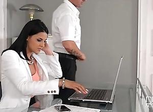 Rendezvous daydreamer fucks hot secretary in the..