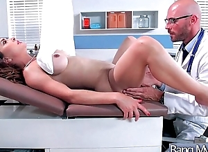 Hard style sex adventures with respect to doctor and hot p...