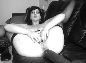 Cum in my gape