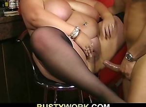 Disallow guv bangs pipeline titted barmaid