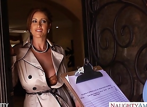 Titillating milf eva notty drag inflate..