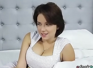 Busty russian marina visconti shows missing her..