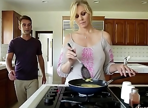 Orally gratified milf gangbanged by will not..