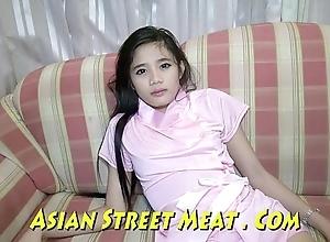 Arrogant class thailand girlie gasps sweetly