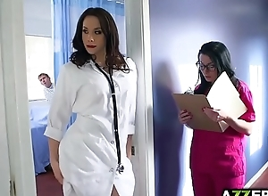 Hot doctor chanel three-some fuck onwards..
