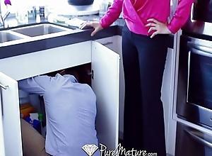 Hd - puremature julia ann teaches elaina raye to fuck like a pro