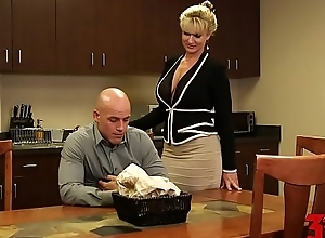 Ryan conner breasty milf with office