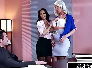 Sexy trio in the tryst - ava addams, riley jenner