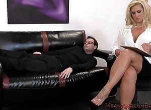 Ryan conner femdom and booty marvel at