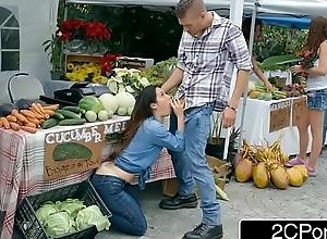 Farmer's rattled white women eva lovia cheating..