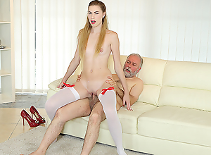 Pop uses his huge sex agree to bear to satisfy a..