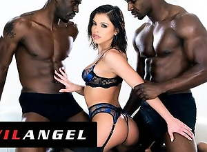 EvilAngel -  Adriana Chechik Squirts While..