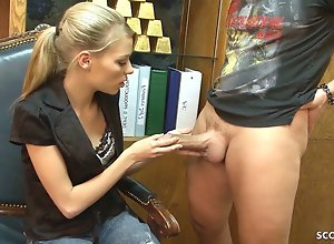 Female Agent Teen Nicole Be captivated by Big..