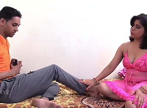 Two Indian milfs fucked hard by a young guy..