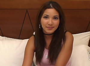 First Time Brazilian Teenager LOVES A Big Unearth