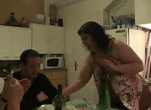 Mom and Paterfamilias summon sons friend over..