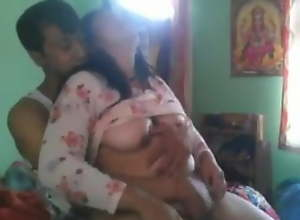 Big boob Desi Aunty fucked everlasting by lover