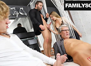 Family visits a Swingers Dead beat for be..