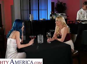 Unhealthy America Kenna James and Jewelz Blu..
