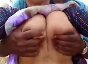 Desi village join in matrimony boy play big boob