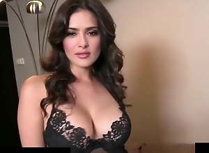 Salma Hayek strips within reach 60fps