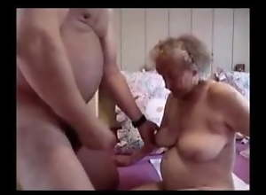 Crazy Old Couple Fucking