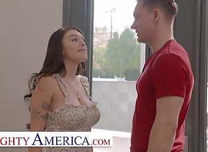 Naughty America - Gabbie Carter gets her way..
