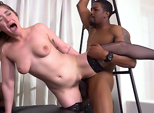 Kenzie Madison Gets Destroyed By BBC In the lead..
