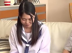 Petite Japanese Teen Abuses  and xxx  Fucks Step..