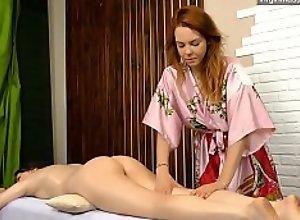 Silvia a virgin babe from Hungary massaged