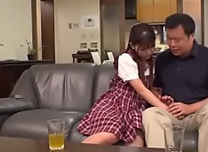 Tiny Japanese Teen Abuses &amp_ Fucks Reluctant..