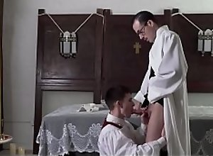YesFather - Sexy Priest Father Fiore Dominates A..