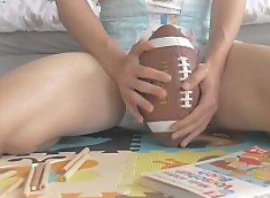 Diaperboy (me) doing his homework in a Diaper