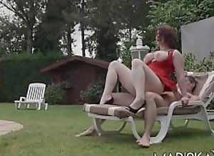 MARISKAX Big tit babe Lucia Love seduces the..
