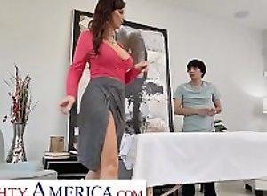 Naughty America - Syren De Mer Fucks her new..