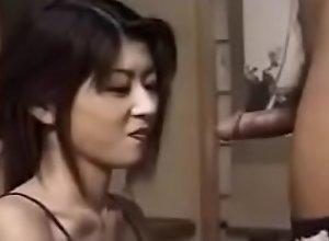 Slim Japanese  Babe Sucks