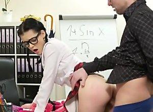 Dane Jones Teacher spanks and fucks naughty..