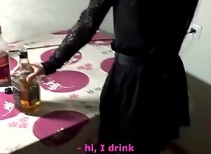 Russian girl on party wants fuck..