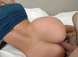 Blonde Ashley Fires penetrated by big cock Ike..