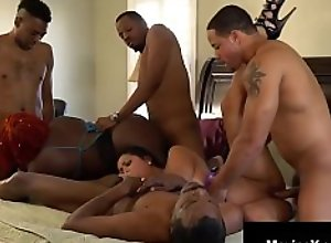 Hot Cambodian Cougar Maxine X Goes Wild With 4..